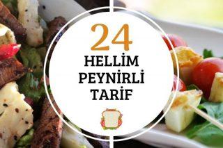Hellim Peynirli Kolay ve Değişik 24 Tarif Tarifi