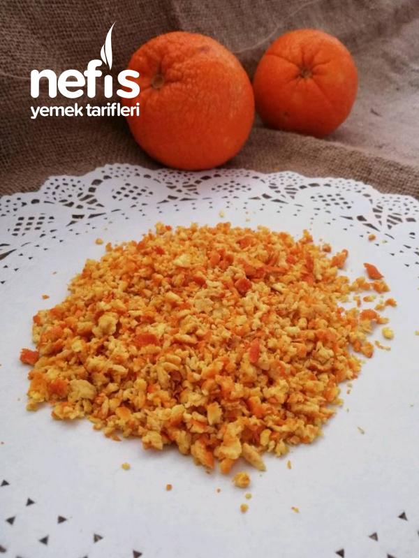 Portakal Kabuğu Nasıl Değerlendirilir