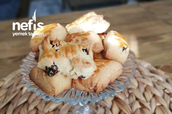 Üzümlü Tarçınlı Pastane Kurabiyesi Tarifi