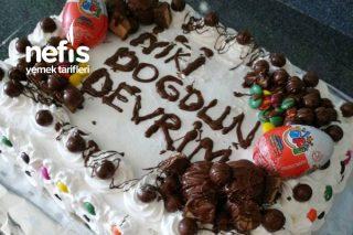 40 Kişilik Doğum Günü Pastası Tarifi