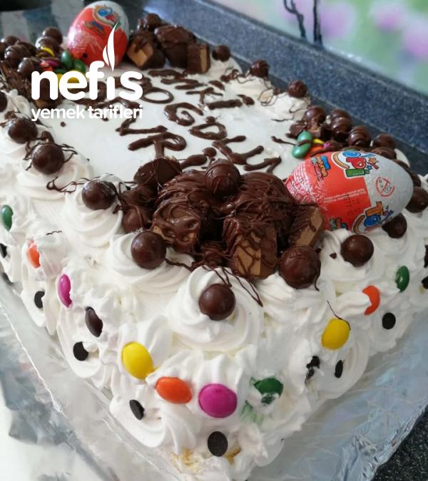 40 Kişilik Doğumgünü Pastası