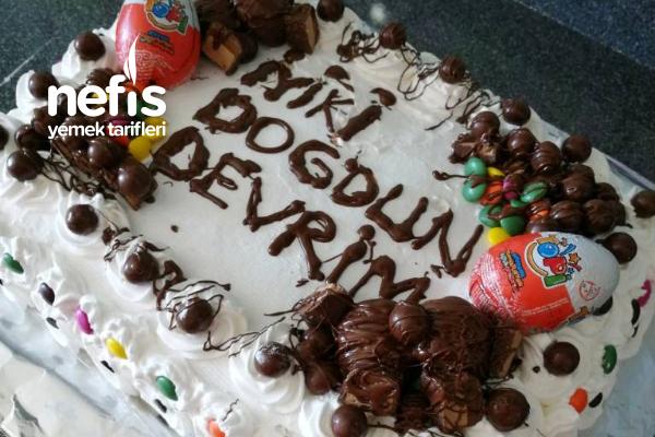40 Kişilik Doğum Günü Pastası