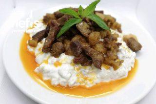 Etli Alinazik Kebabı (Videolu) Tarifi