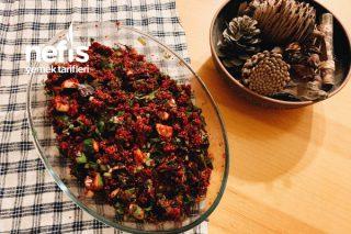 Pancarlı Kinoa Salatası Kısır Alternatifi Tarifi