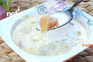 Sadece 3 Malzeme İle Sütlü Bal Kabağı Çorbası (Videolu) Tarifi