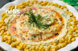 Havuçlu Salatalıklı Patates Salatası ( Çok Pratik Çok Lezzetli) Tarifi