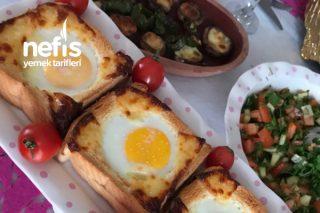 Yumurtalı Tost Ekmeği Tarifi