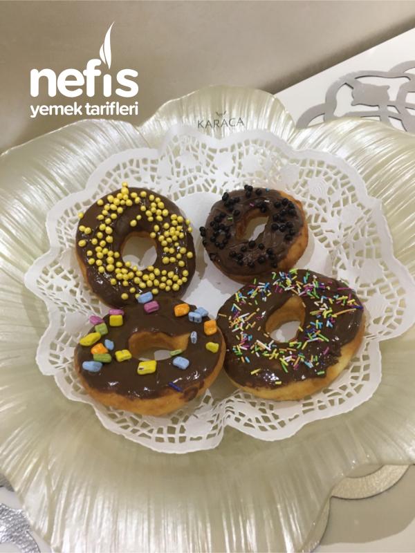 Kahvaltıda Donut (Görselli)