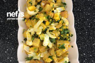 Patatesli Yumurta Salatası Tarifi