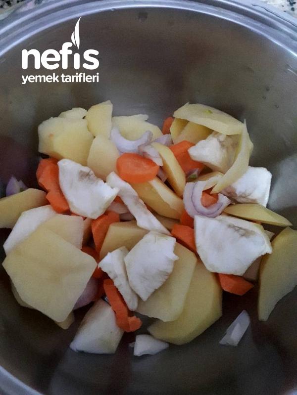 Portakallı Kereviz Çorbası (Bebekler İçin)