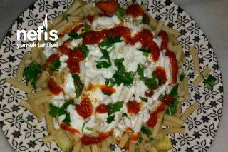 Sebzeli Yoğurtlu Makarna Tarifi