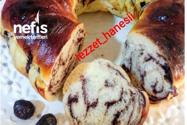 Zeytin Ezmeli Kek Kalıbında Poaça