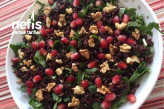 Antioksidan Deposu Siyah Pirinç Salatası Tarifi