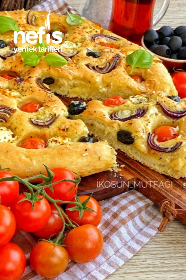 Foccacia Ekmeği Lezzet Garantili