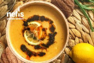 Karamelize Soğanlı Mercimek Çorbası Tarifi
