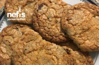 Çikolata Parçalı Nefis Cookie Tarifi