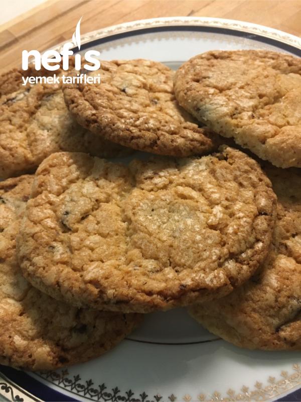 Çikolata Parçalı Nefis Cookie