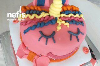 Doğum Günü Pastası 2 Katlı Şeker Hamur Kaplamalı Tarifi