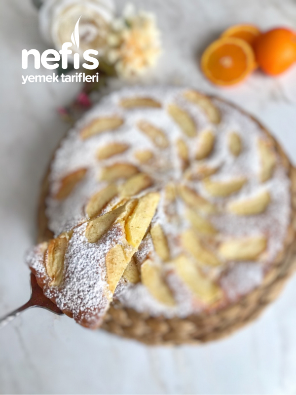 Elmalı Tart Kek
