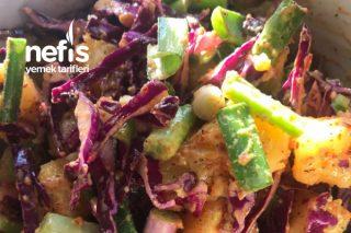 Hardal Soslu Patates Salatası (Çok Kolay) Tarifi