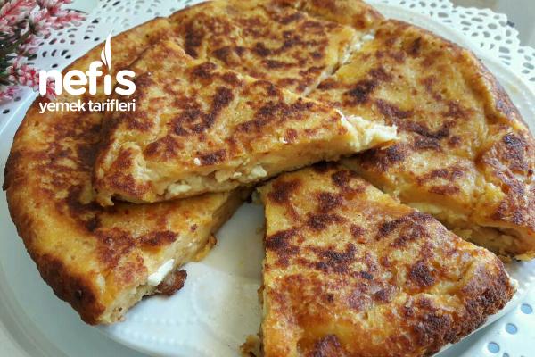 Tavada Peynirli Bayat Ekmek Böreği Tarifi