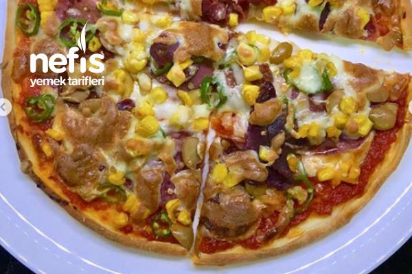Şarküteri Pizza Tarifi