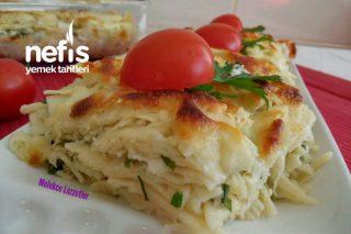 Su Böreği Tadında Peynirli Lazanya Tarifi