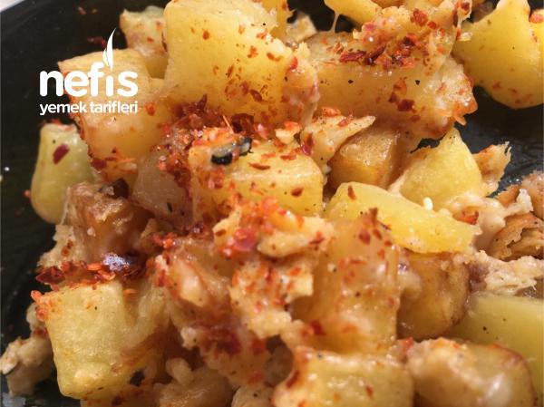 Yumurtalı Kaşarlı Patates Çentmesi :)