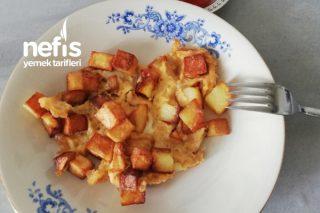 Kahvaltılarınızda Yumurtalı Patates Tarifi