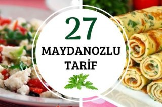 Maydanozla Yapılan 27 Leziz Tarif Tarifi