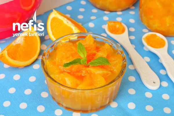 Portakal Reçeli Yapımı (videolu) Tarifi