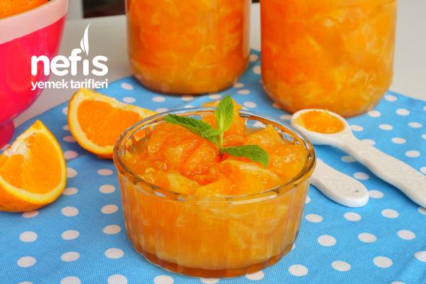 Portakal Reçeli Yapımı