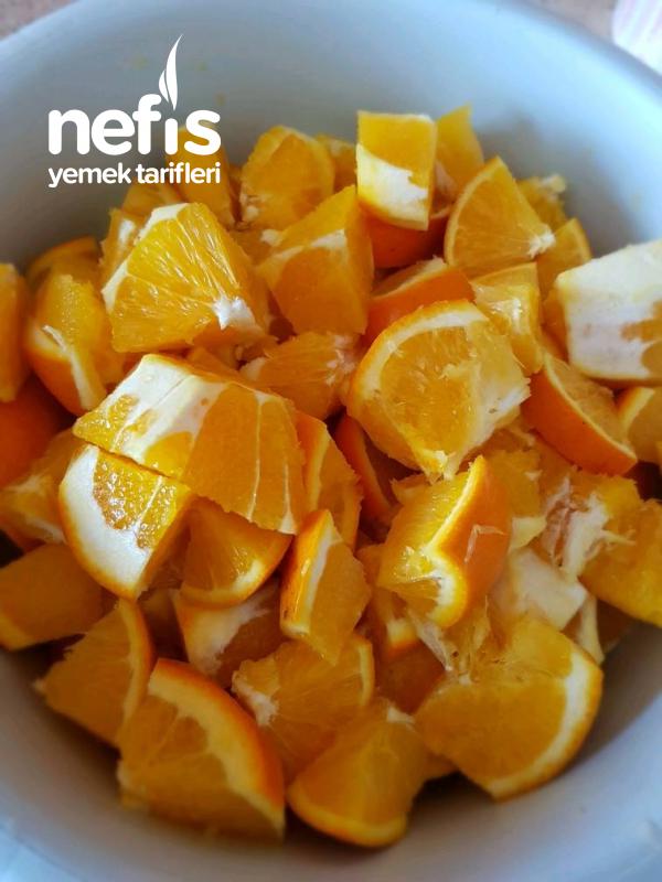 Kekler Ve Kurabiyeler İçin Portakal Kabuğu Muhafaza Etme
