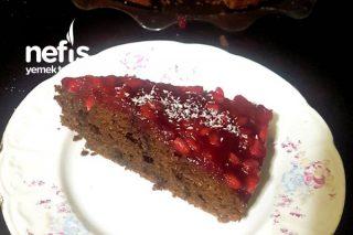 Nar Soslu Damla Çikolatalı Kakaolu Kek (Tadı Efsanee ) Tarifi