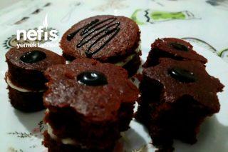 Şekilli Kremalı Kakaolu Kek Tarifi
