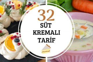 Süt Kremalı Tatlı Tuzlu 32 Tarif Tarifi
