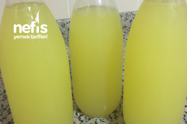 En Kolay Limonata Tarifi 1 Limon 1 Portakaldan (Videolu)