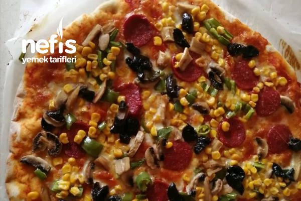 Karışık İtalyan Pizzası Tarifi