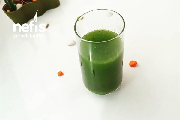 Yeşil Smoothie (Detox) Tarifi