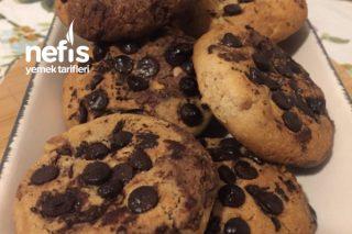 Bitter Çikolatalı Cookie (Kahve Dünyası Starbucks ) Tarifi