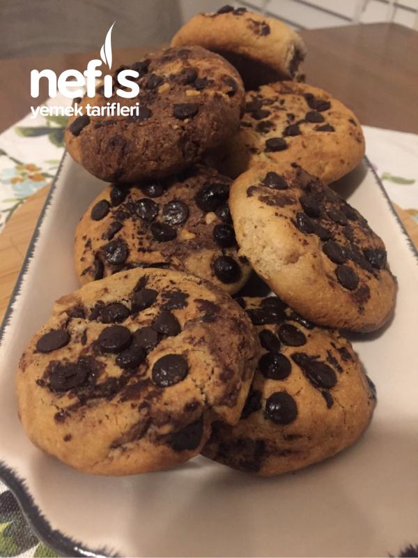 Bitter Çikolatalı Cookie(kahve dünyası & starbucks )