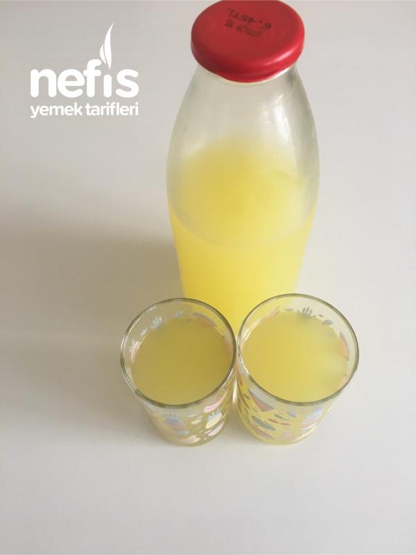 En Kolay Limonata Tarifi 1 Limon 1 Portakaldan