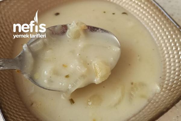 Sütlü Soğan Çorbası Tarifi