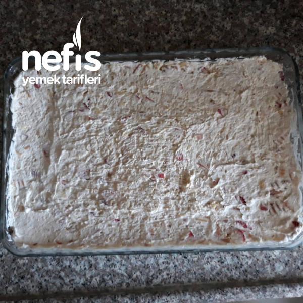Bebe Biskuvisinden İnanılmaz Lezzetde Pasta