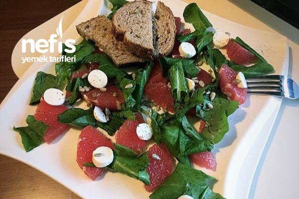 Greyfurtlu Roka Salatası Tarifi