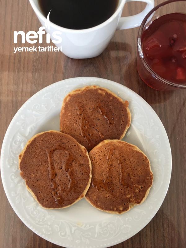 Tam Tahıllı Bebek Pancake