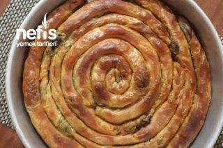 Çıtır Çıtır Ispanaklı Arnavut Böreği Tarifi