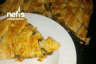Hazır Günlük Yufkadan Ispanaklı Börek Tarifi