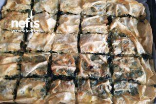 Ispanaklı Kıymalı Börek Tarifi