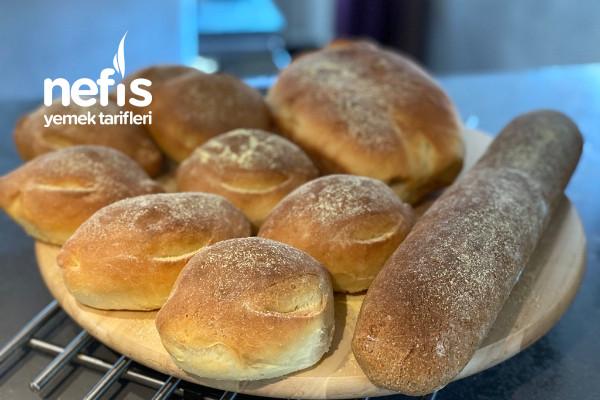 Kahvaltılık Baget Ve Küçük Ekmekler Tarifi